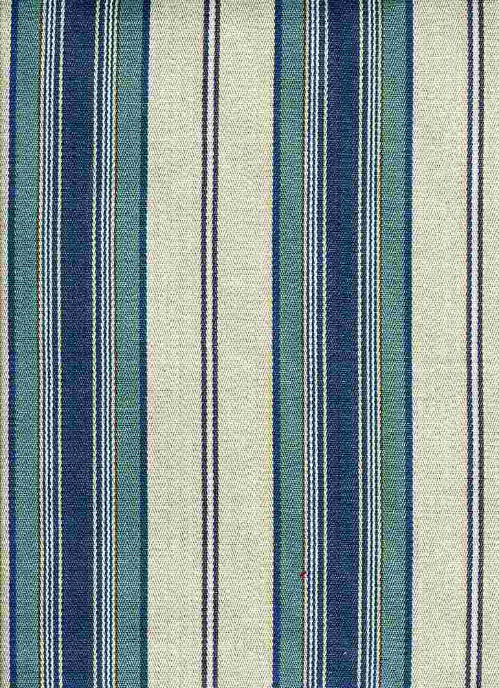 <h2>2290/1</h2> / LAKEWOOD STRIPE / FLAX BLUE