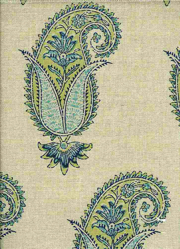 4203/1 / ANTIQUE PAISLEY PRINT / SPRING