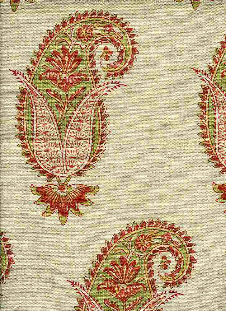 4203/2 / ANTIQUE PAISLEY PRINT / AUTUMN