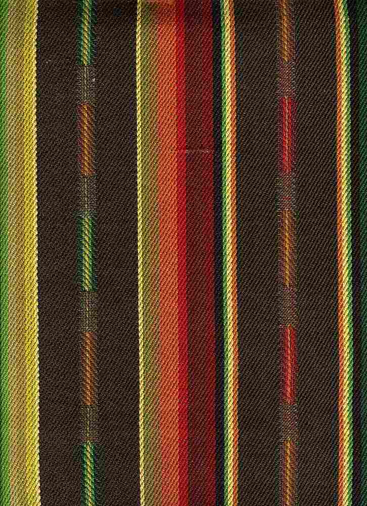 <h2>2255/3</h2> / SUNDANCE STRIPE / BROWN MULTI