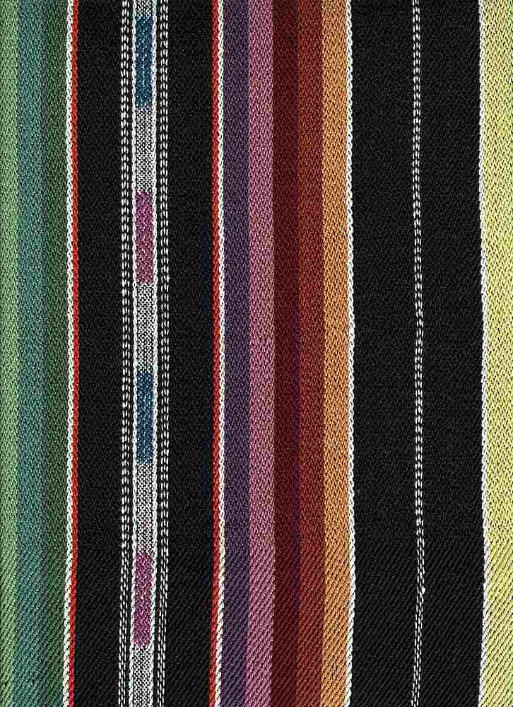<h2>2300/1</h2> / ZUNI STRIPE / BLACK MULTI