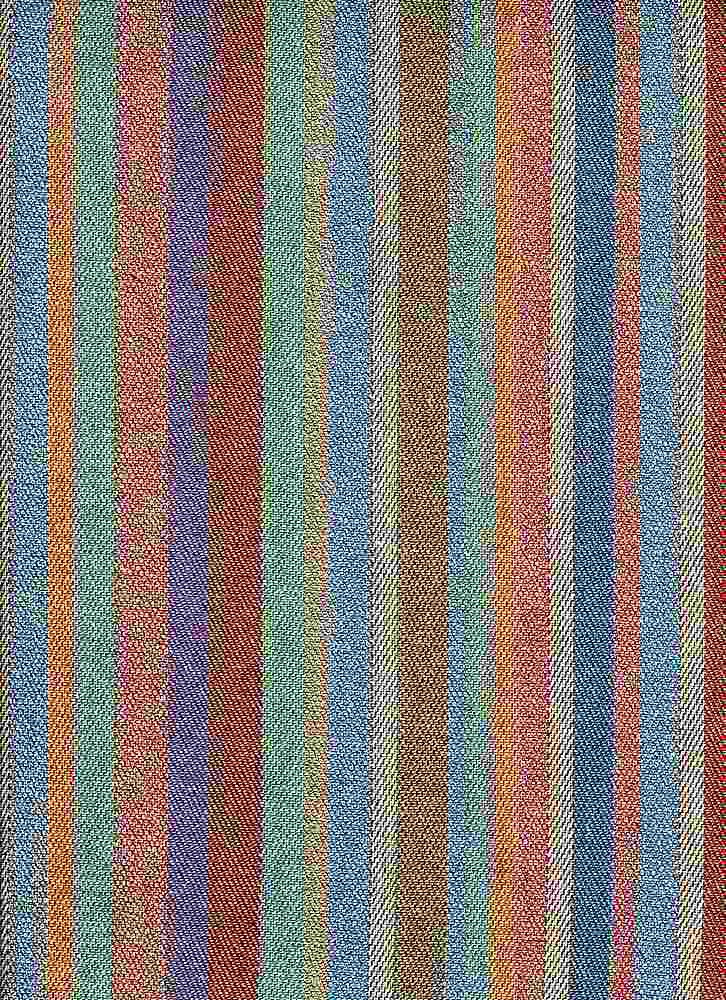<h2>2302/1</h2> / PUEBLO STRIPE / BLUE MULTI