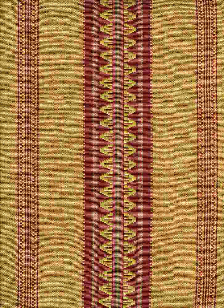 <h2>2297/1</h2> / CATALAN STRIPE / BERRY GOLD