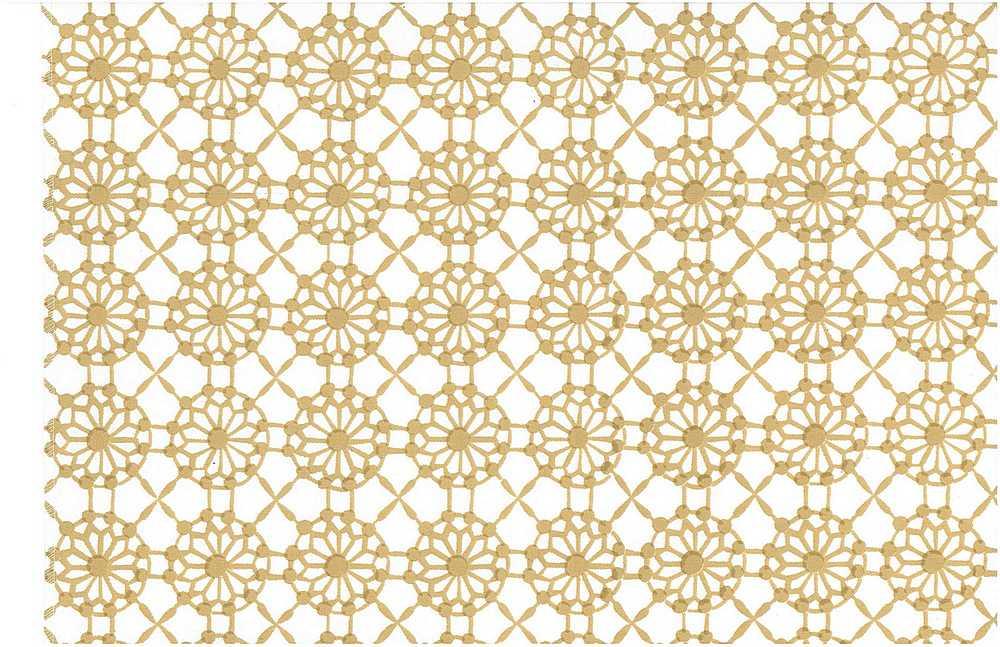 0901/4 / MAHAL PRINT  / ALMOND/WHITE