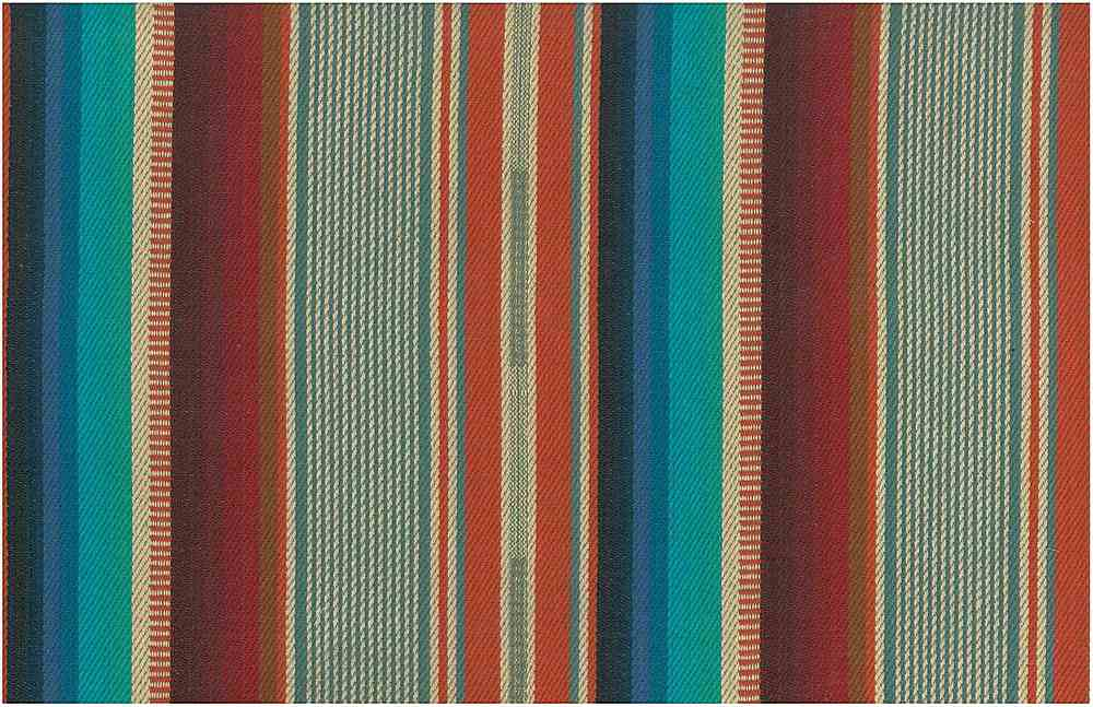 2310/1 / EL PASO STRIPE / TURQ/ORANGE