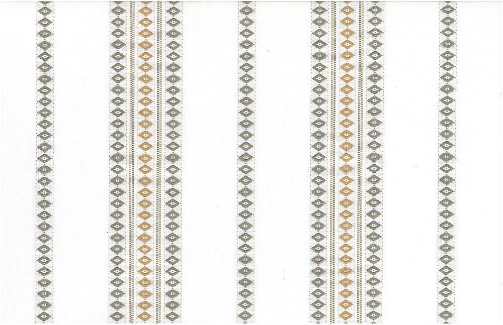<h2>2295/6</h2> / FINNISH STRIPE / FLAX/TAN